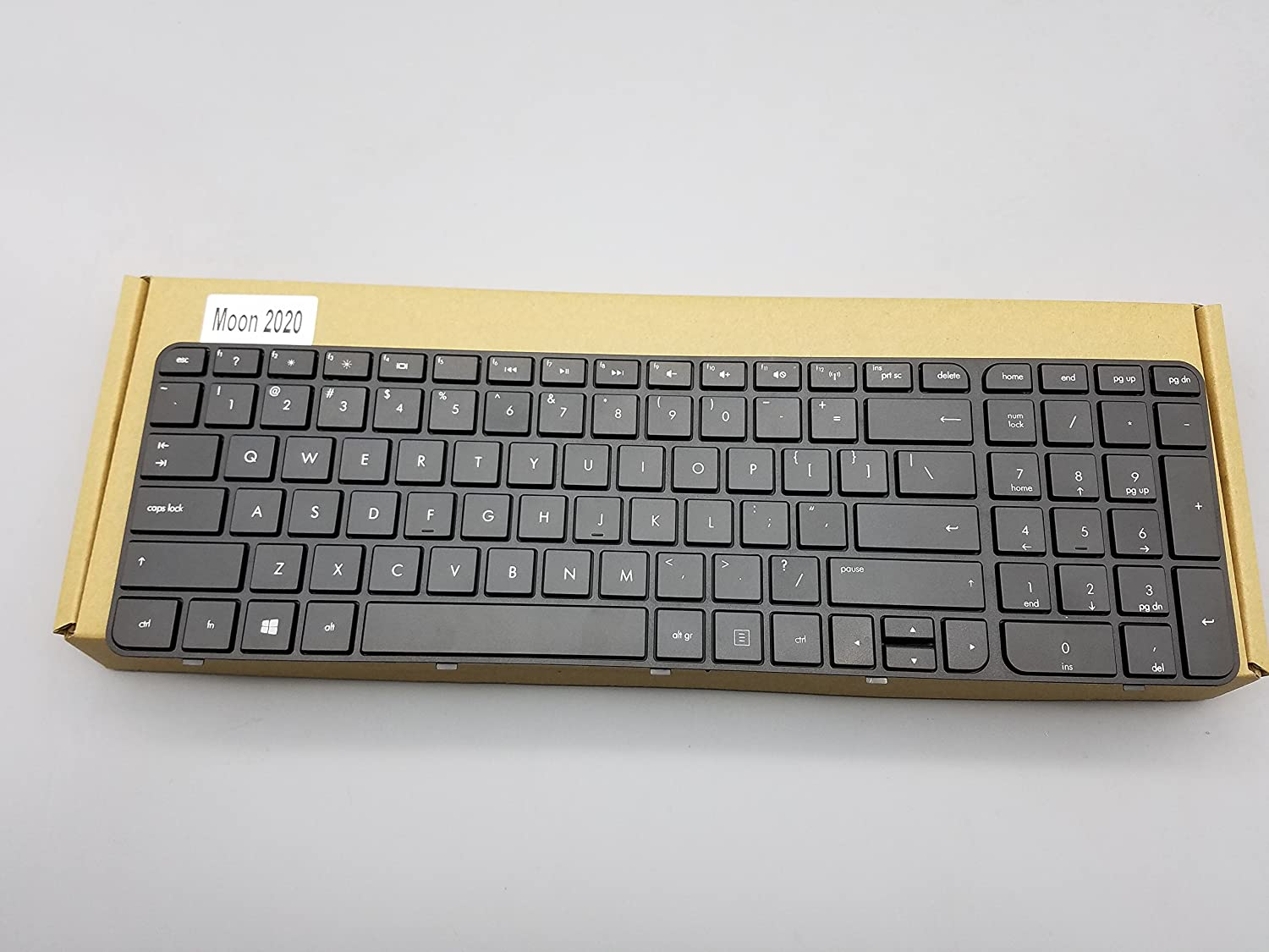 Replacement Keyboard for HP Pavilion g7-2000 g7-2100 g7z-2100 CTO g7-2200 g7z-2200 CTO g7-2300 Series Laptop With Frame