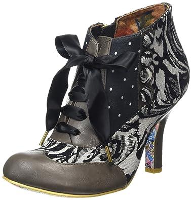 Irregular Choice Blair Elfglow, Damen Kurzschaft Stiefel, Schwarz (Black  Multi), 40