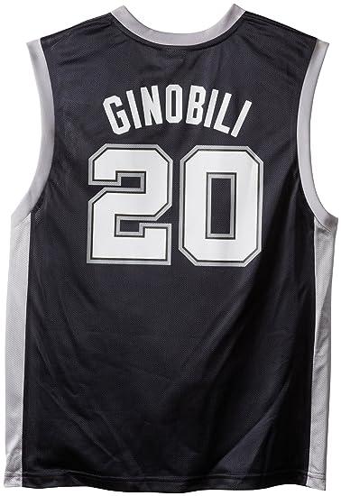 5335974ca Amazon.com   NBA San Antonio Spurs Emanuel Ginobili Men s Jersey ...