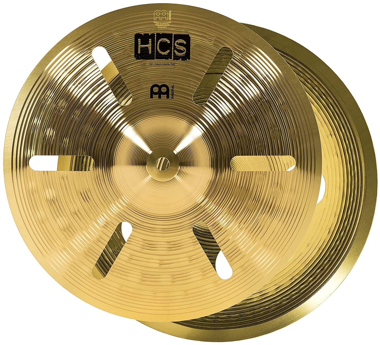 """Meinl Ultimate Cymbal Set Box Pack with FREE 16"""" Trash Crash – HCS Traditional Finish Brass – Made In Germany, TWO YEAR WARRANTY (HCS-SCS1) Meinl USA L.C."""