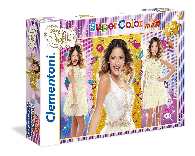 23675.6 Clementoni Violetta V-Lovers Maxi Puzzle 104 Piece