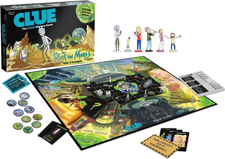 Rick and Morty Clue Board Game: Amazon.es: Juguetes y juegos