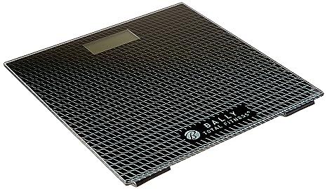 Bally Total Fitness BLS-7302 BLK Digital Bathroom Scale (Black), Black