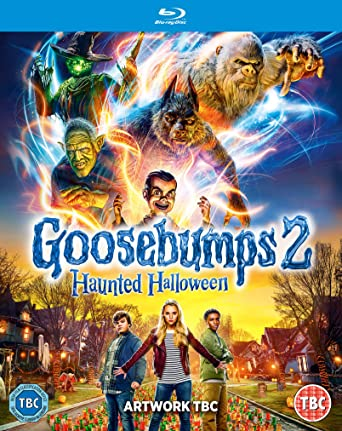 Goosebumps 2 Haunted Halloween 2018 BluRay 720p 1GB Line [Telugu-Tamil-Hindi-Eng] ESub MKV