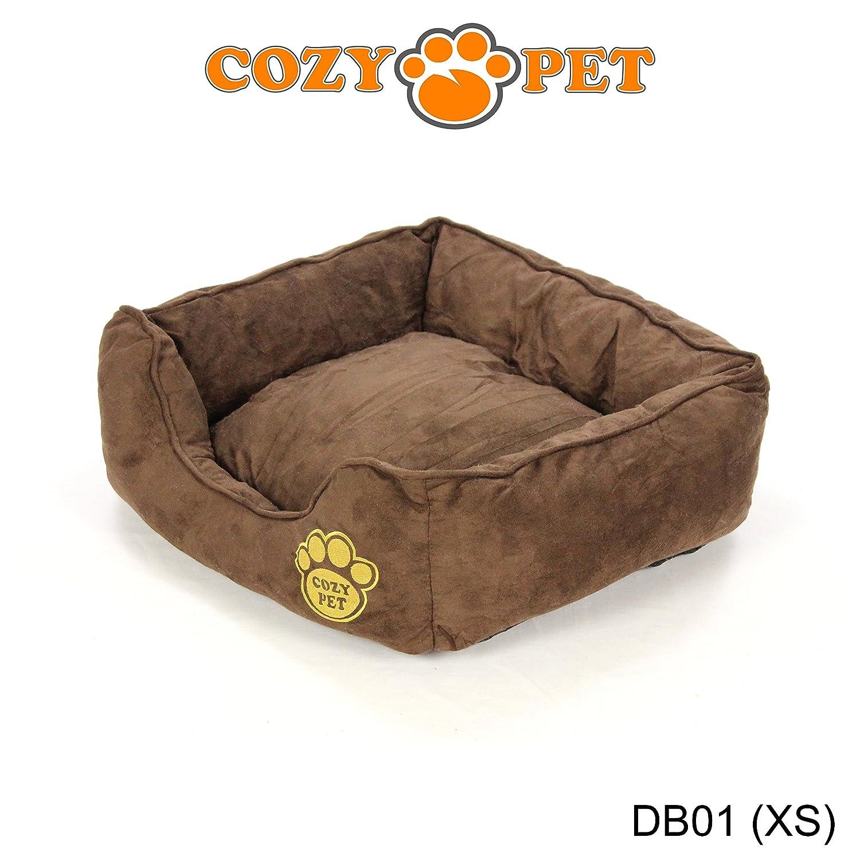 Cozy Pet Luxury Dog Bed with Faux Sheepskin Lining Fully Washable