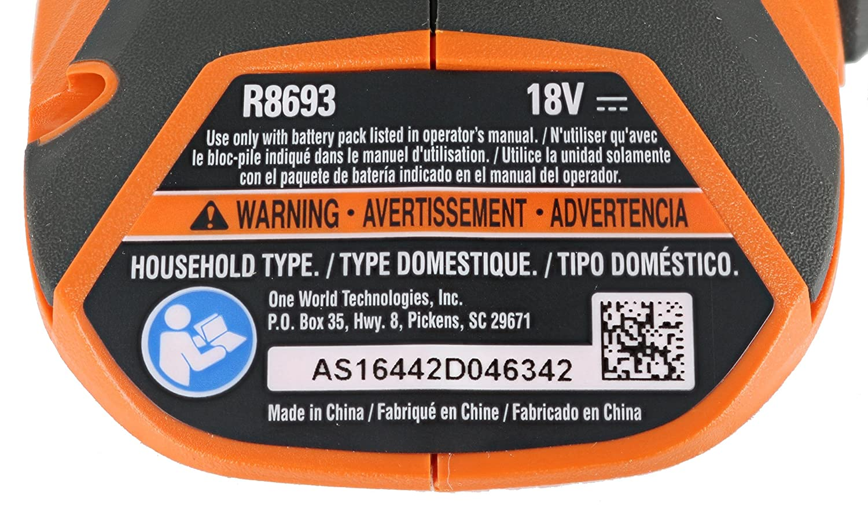 Ridgid R8693 Gen5x Lithium Ion Cordless LED Focused Hi-Beam Flashlight R8693B Batteries Not Included, Flashlight Only