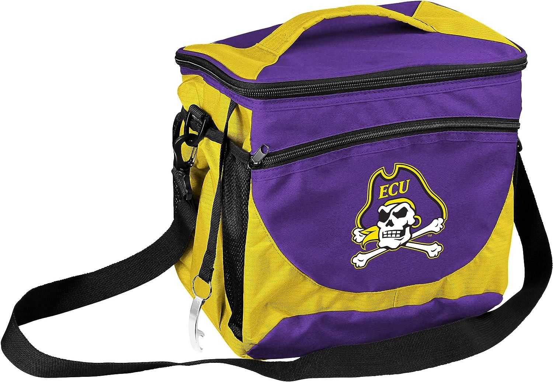 One Size Multicolor logobrands NCAA VA Tech Quatrefoil Expandable Tote