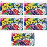Mr. Sketch Scented Markers, Chisel-Tip, Assorted Colors, 60-Count