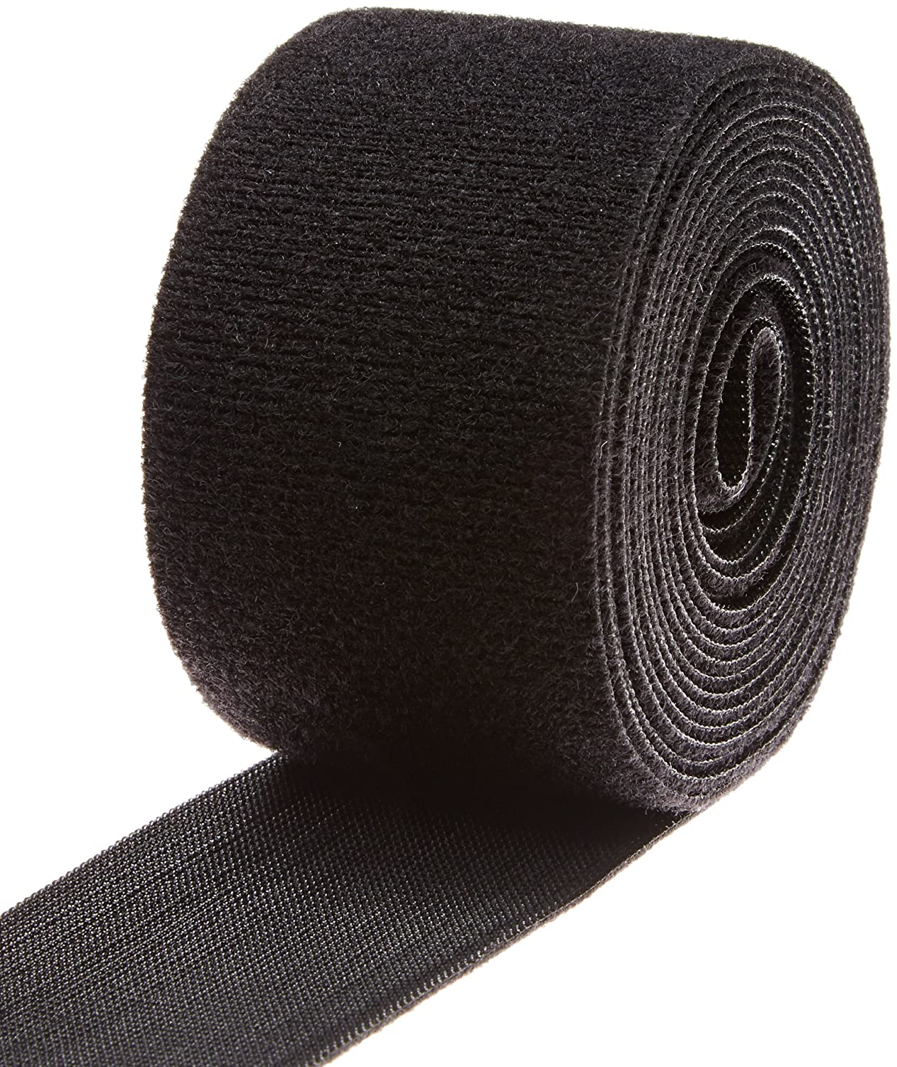 VELCRO 1806-OW-PB/B Black Nylon Onewrap Velcro Strap, Hook and Loop, 2' Wide, 10' Length 2 Wide 10' Length CS Hyde Company Inc 1806-OW-PB/B-10