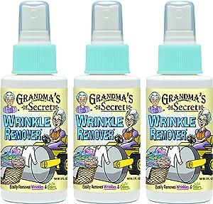 Grandma's Secret Wrinkle Remover Spray, 3 oz - Pack of 3