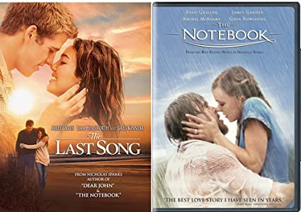 Amazon com: The Notebook + The Last Song Romance Movie DVD Set
