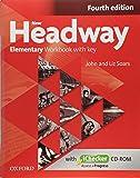 New Headway : Elementary Workbook with key (1Cédérom)