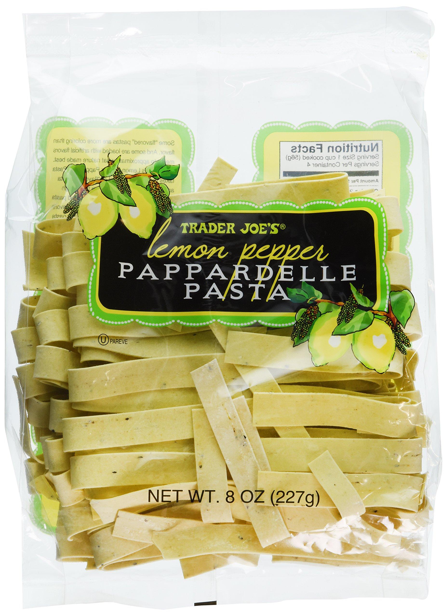 Trader Joe's Lemon Pepper Pappardelle Pasta (Pack of 6)