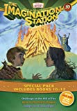Imagination Station Books 3-Pack: Challenge on the Hill of Fire / Hunt for the Devil's Dragon / Danger on a Silent Night (AIO Imagination Station Books)