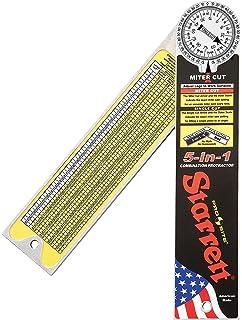 Starrett 505A-12 12-300mm Aluminium Miter Protractor