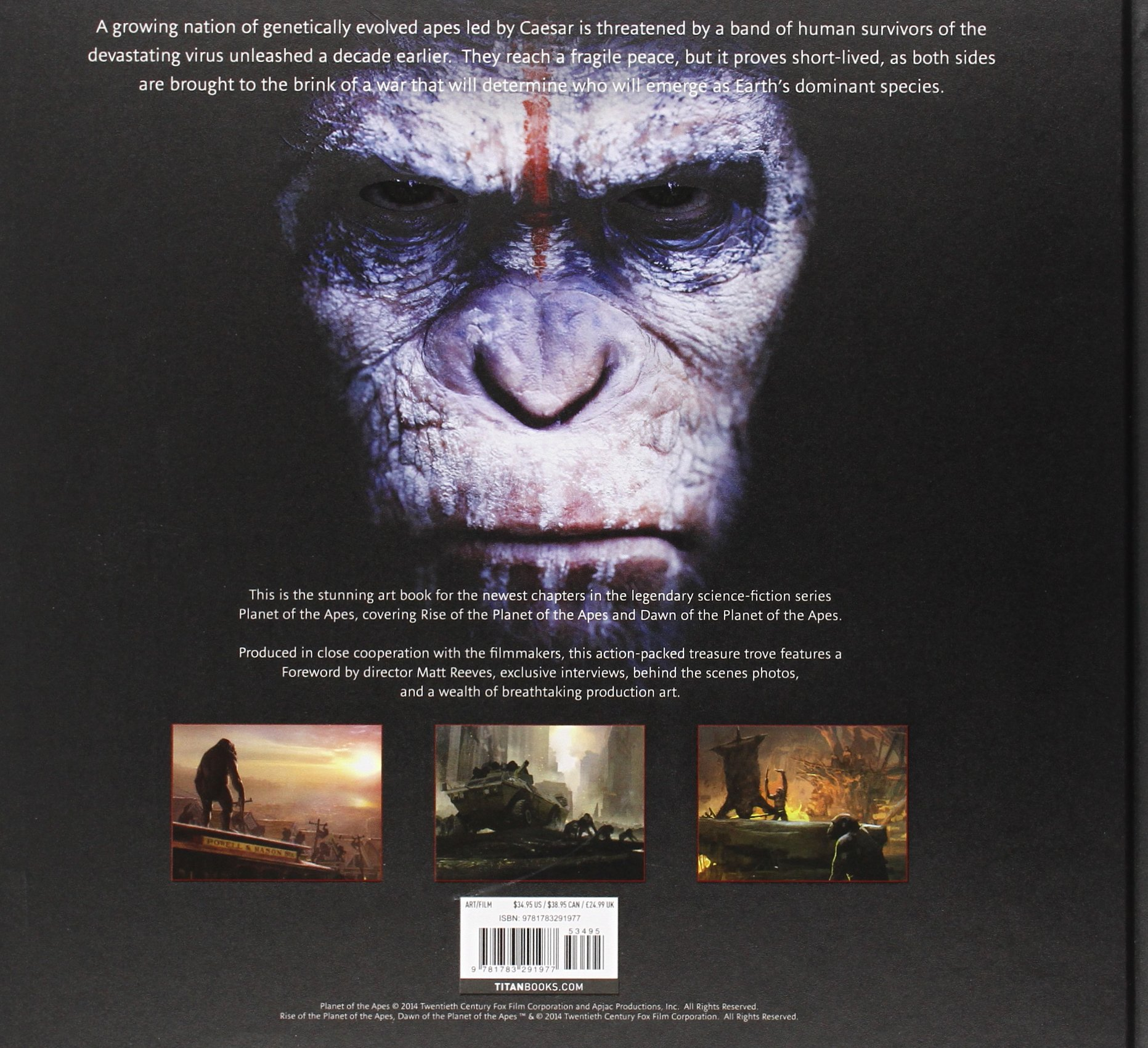 amazon com dawn of planet of the apes and rise of the planet of the