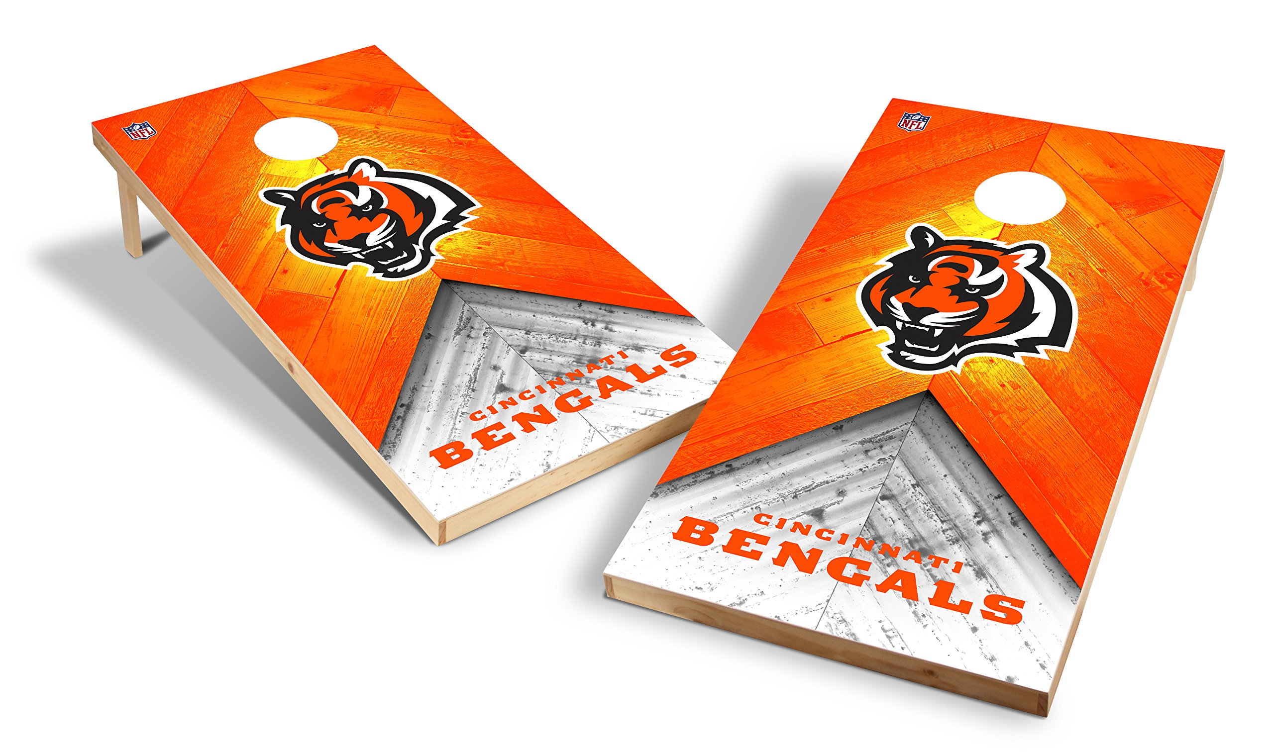 Wild Sports NFL 2'x4' Cincinnati Bengals Cornhole Set