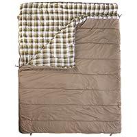 Vango Accord Square Sleeping Bag, Nutmeg, Double