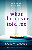 What She Never Told Me: The compelling and critically acclaimed mystery
