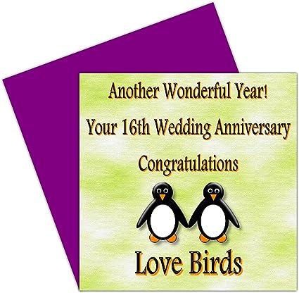 Anniversario Di Matrimonio 16 Anni.On Your Per Il Anniversario Di Matrimonio 16 Anni Holloware