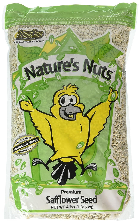 Chuckanut Products 00028 4-Pound Premium Safflower Seed