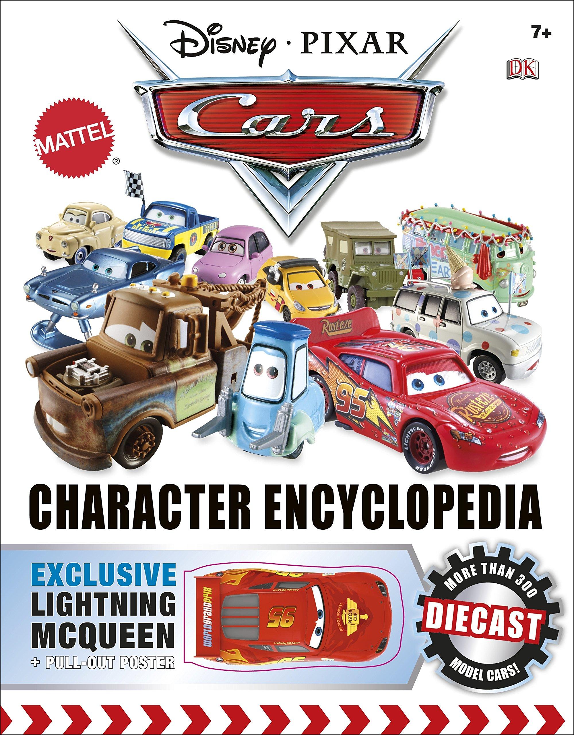 Buy Disney Pixar Cars Character Encyclopedia Book Online At Low