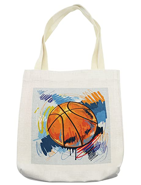 7ee89426470b Amazon.com - Lunarable Sports Tote Bag