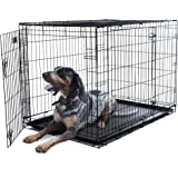 """PETMAKER Small 2 Door Foldable Dog Crate Cage, 24 x 19"""""""