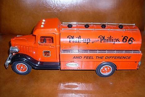 Phillips 66 Vintage Truck Bank By Marx Dist 1993 NIB W//Lights