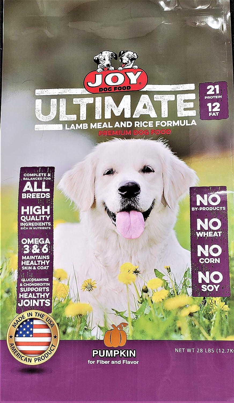 Joy Dog Food Ultimate Lamb and Rice, Maroon (50138)