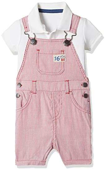 4c05b3e3979a Mothercare Baby Boys  Dungaree (Pack of 2) (H5968 Red Newborn ...
