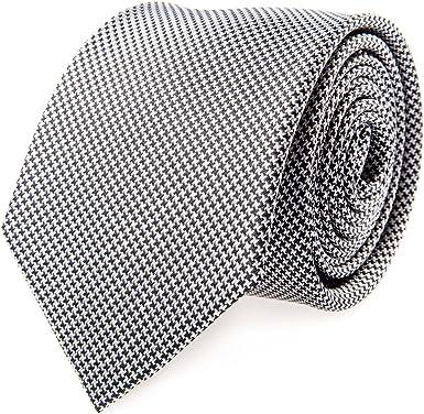 Corbata Seda Gris Clásico: Amazon.es: Ropa y accesorios