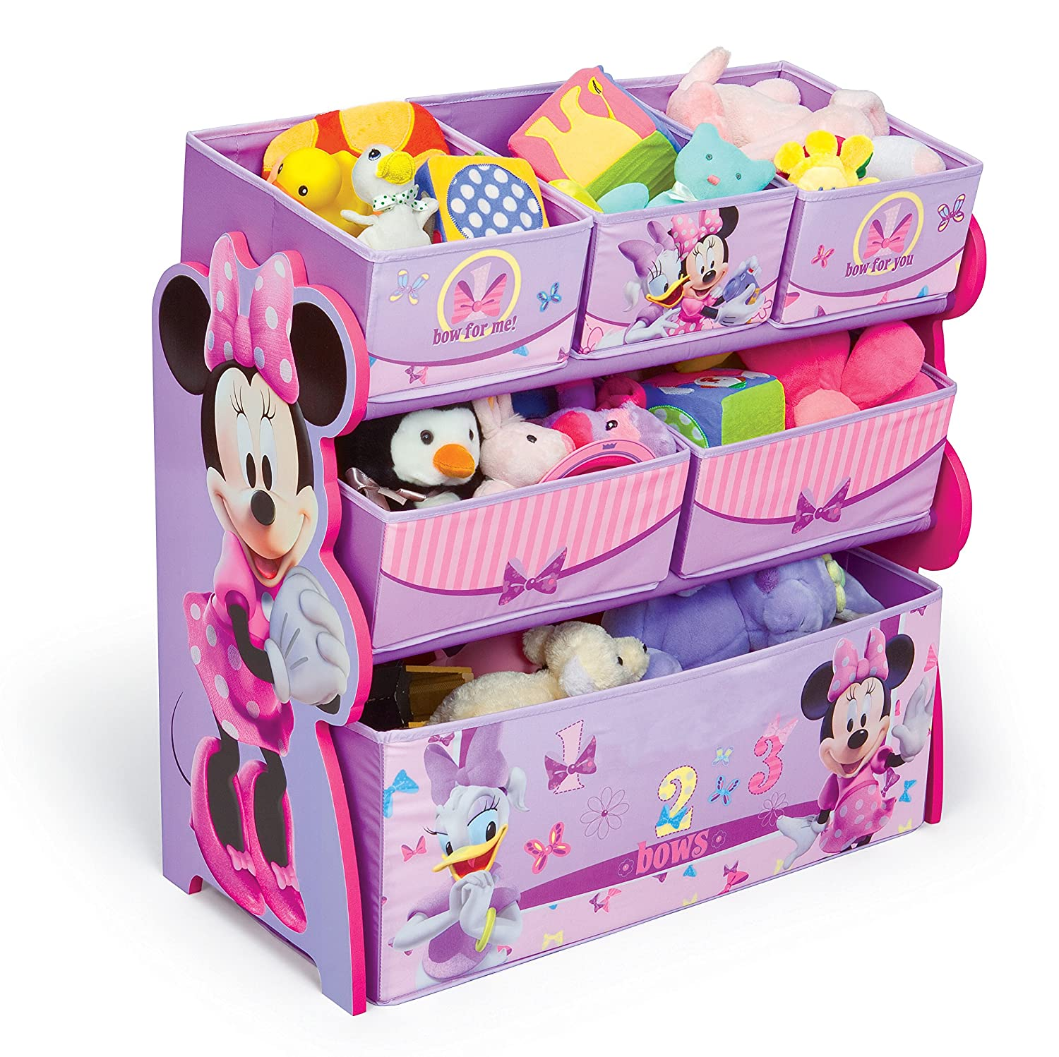 Amazon.com: Delta Enterprise Minnie Multi Bin Toy Organizer(Discontinued By  Manufacturer): Toys U0026 Games