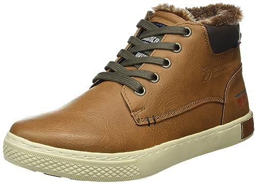 TOM Tailor 1685002 - Zapatillas Altas de Sintético Hombre, Color Gris, Talla 42 EU Tom Tailor