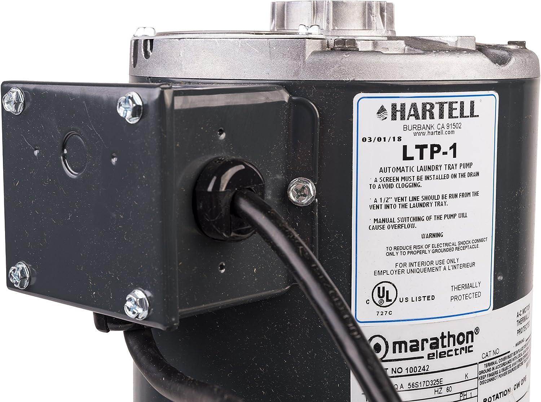 hartell condensate pump wiring diagram ltp 1 hartell laundry tray pump  w 2 gallon reservoir  115 volt  1  ltp 1 hartell laundry tray pump  w 2