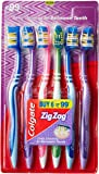 Colgate ZigZag Toothbrush (Medium, Pack of 6)