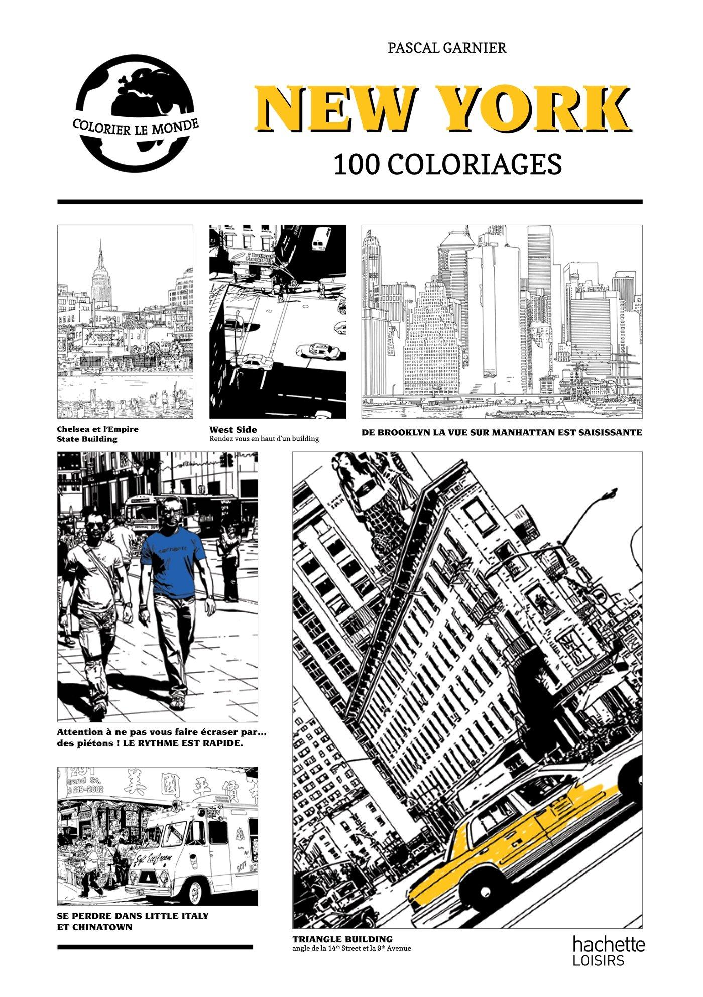 Coloriage Adulte New York.Livre Coloriage Adulte New York