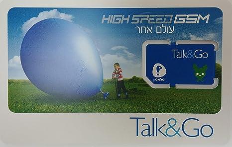 Amazon.com: pelephone Israel tarjeta SIM de prepago de ...