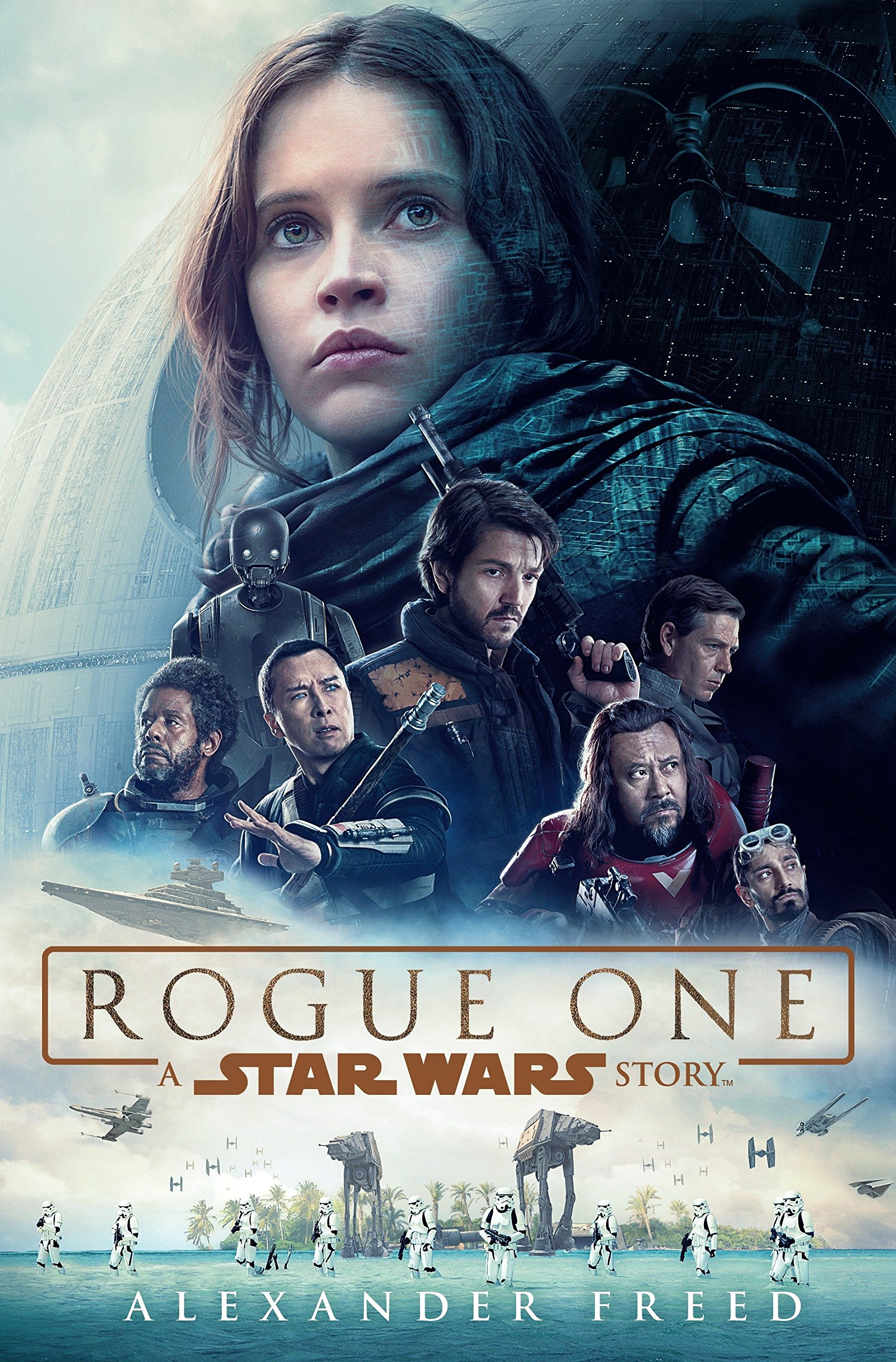 Image result for rogue one book