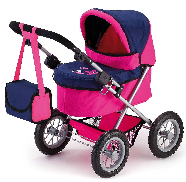 Bayer Design 13013 - Passeggino per Bambole Trendy rosa Blu