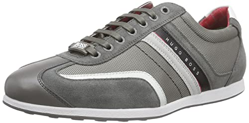 BOSS GreenStiven 10167192 01 - Zapatillas Hombre, Color Gris, Talla 46 EU: Amazon.es: Zapatos y complementos