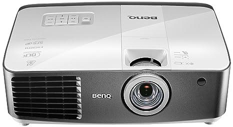 Benq W1400 - Proyector DLP 3D (2200 lúmenes ANSI, DLP, 1080p (1920x1080), 3500 h, 240 W, 5000 h), color blanco