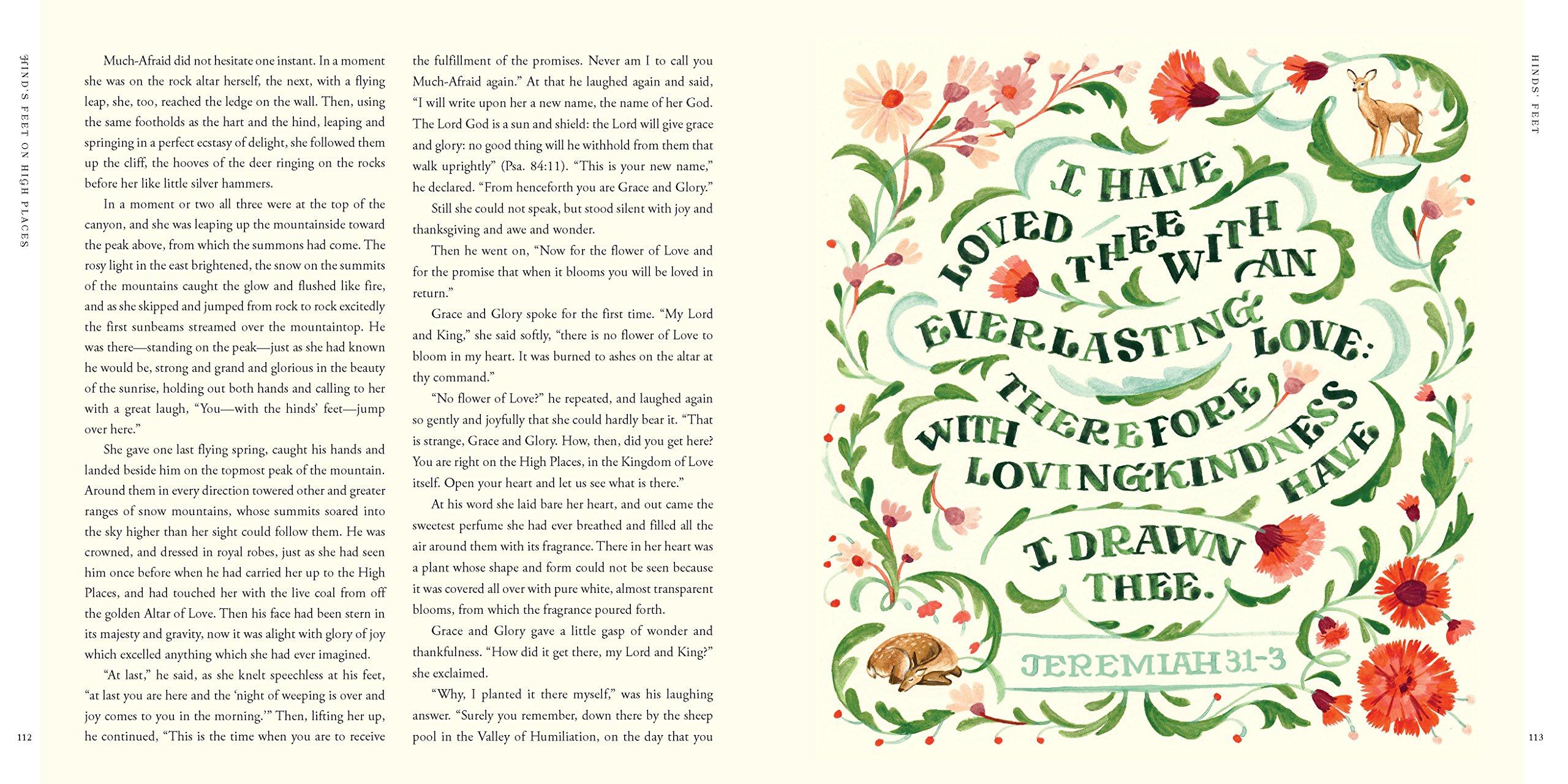 Hinds' Feet on High Places: An Engaging Visual Journey: Hannah Hurnard,  Jill De Haan, Rachel McNaughton: 9781496424679: Amazon.com: Books