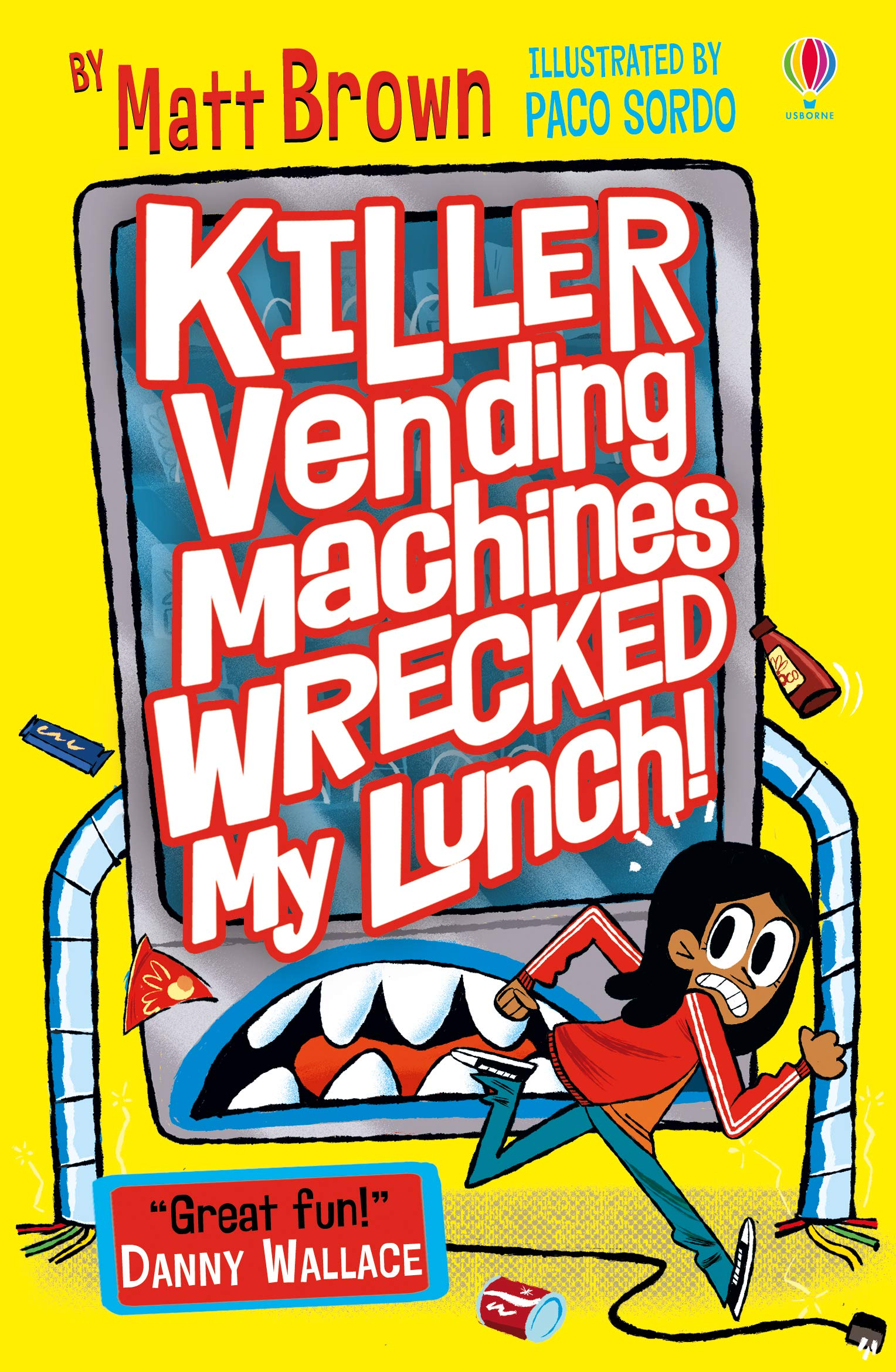 Image result for killer vending machines wrecked my lunch