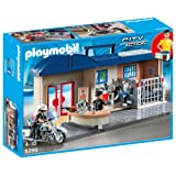 Playmobil 5299 - Commissariat de police transportable