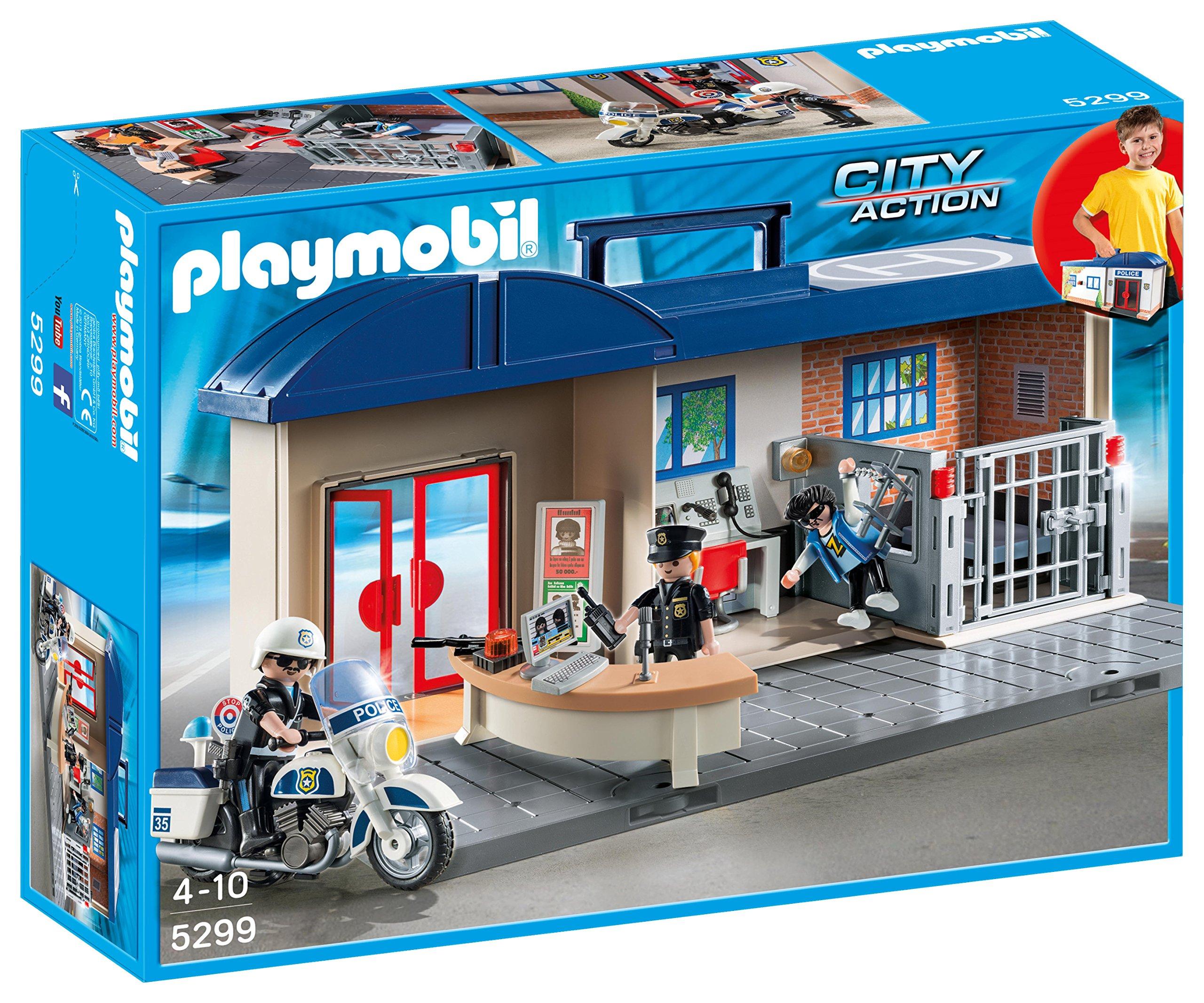 Playmobil - Maletín jefatura de policía (5299) product image