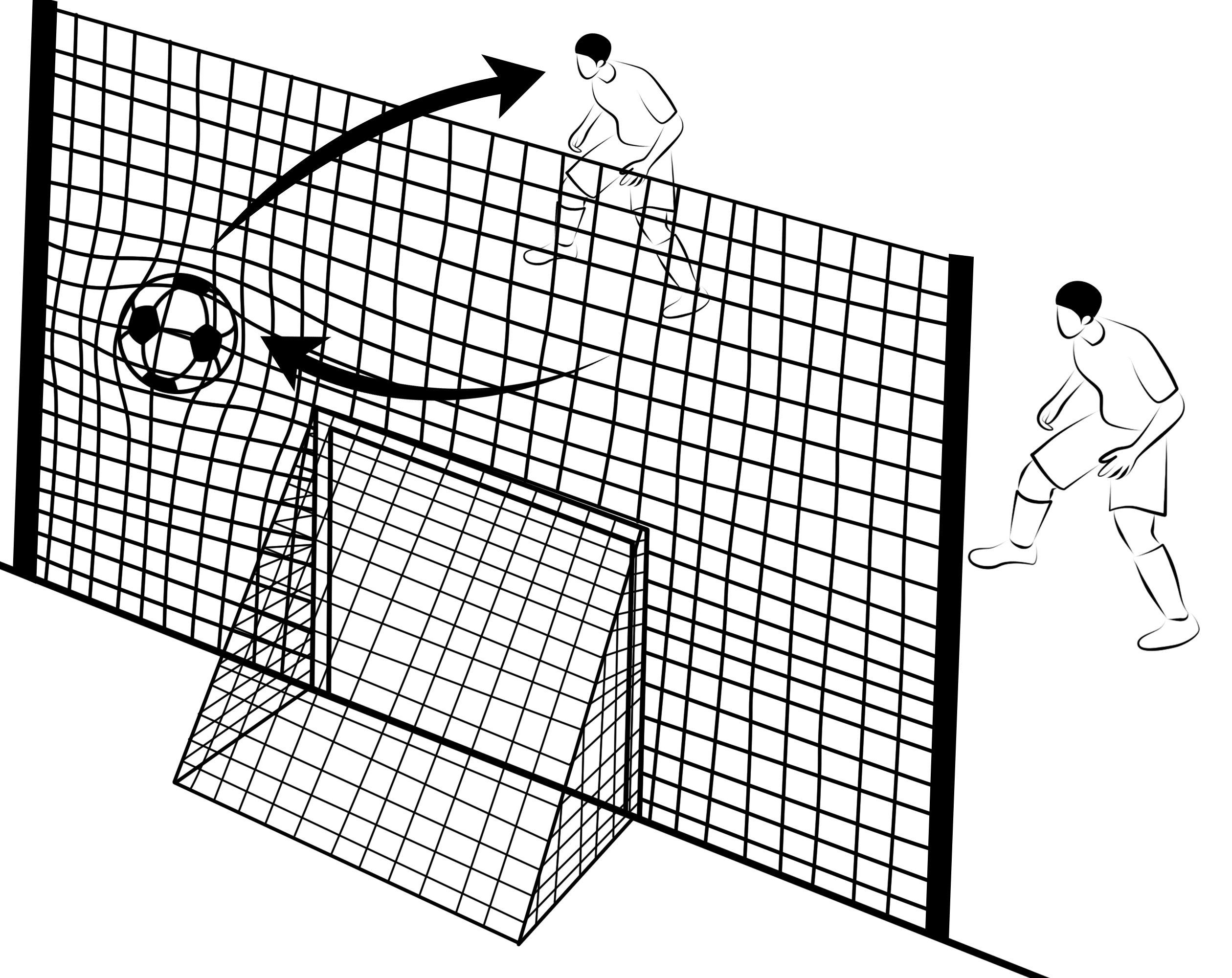 Open Goaaal Soccer Rebounder/Goal/Backstop All-in-One (Large)