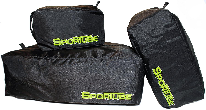 Sportube Ensemble de 3 sacs pour équipement sportif Noir GRPK