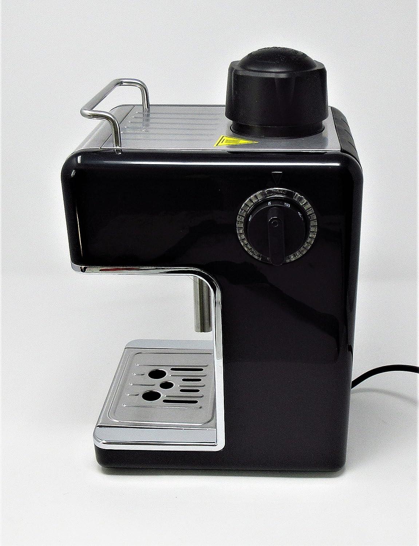 Cookspace î 4-Cup Steam Espresso & Cappuccino, Latte Maker ...