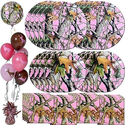 Next Pink Camo Party Luncheon Napkins Camouflage Birthday Wedding